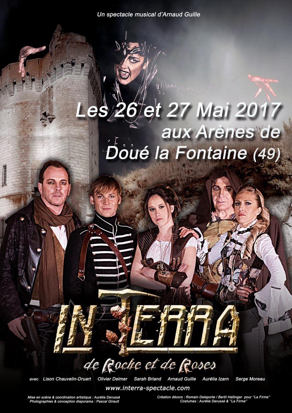 Spectacle musical In Terra - De roche et de roses Doué-la-Fontaine