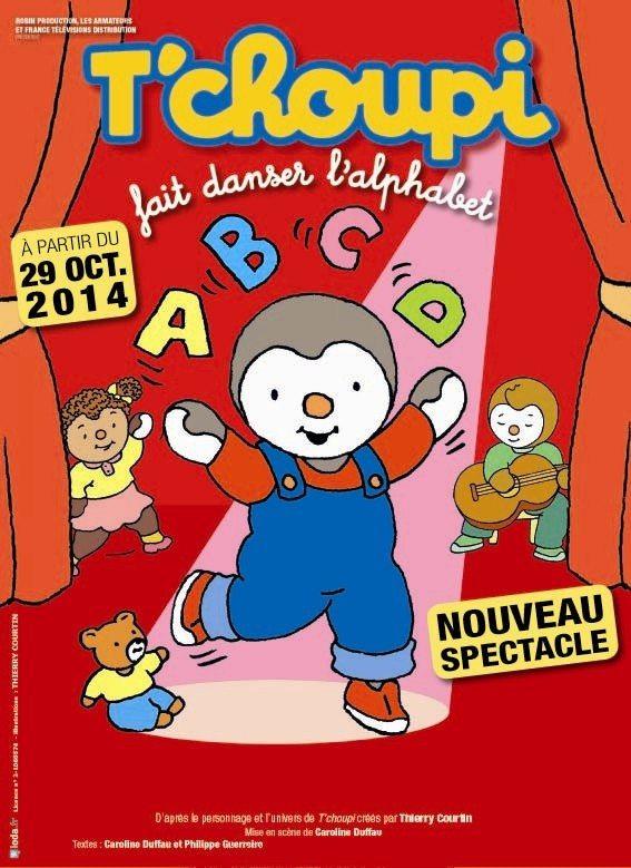 Tchoupi fait danser l'alphabet Mouilleron-le-Captif