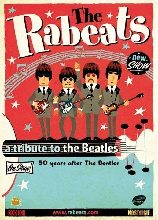 The Rabeats hommage aux Beatles Trélazé