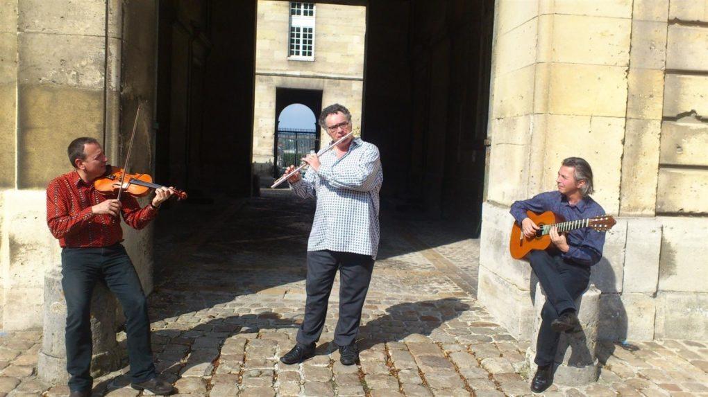 Trio Harmonia 3 flûte violon guitare Le Pouliguen