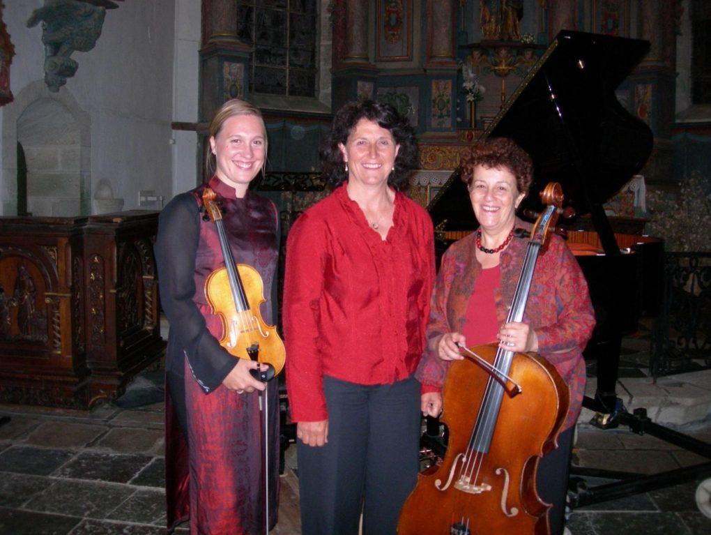 Trio Lyris concert Chambre avec vue Fouesnant