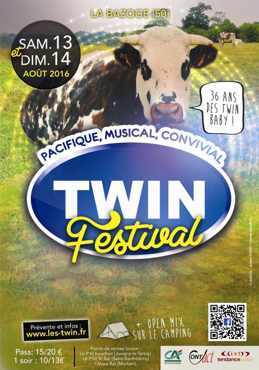 Twin festival La Bazoge