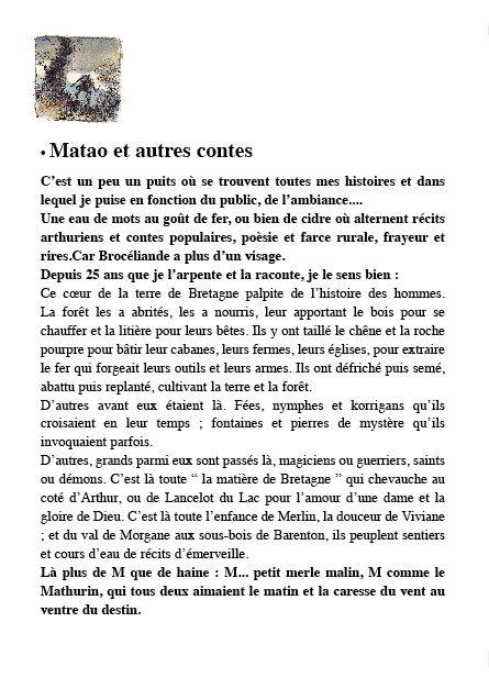 Un conte sur un transat Xavier Lesèche Matao et autres contes ... - Unidivers