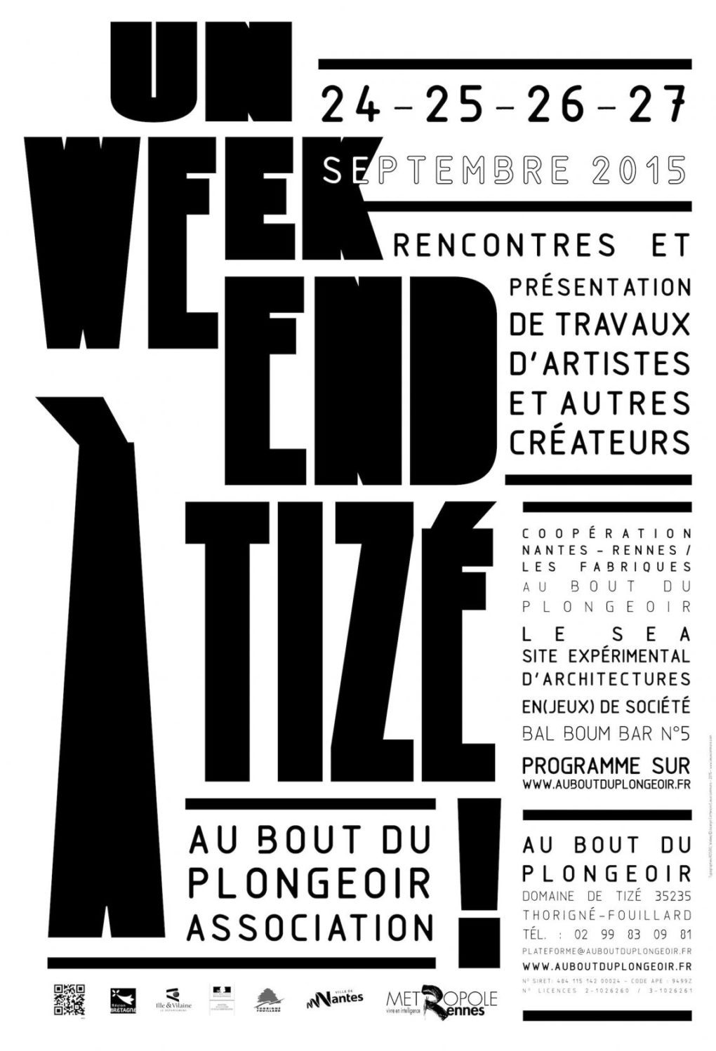 Un week-end à Tizé Rennes