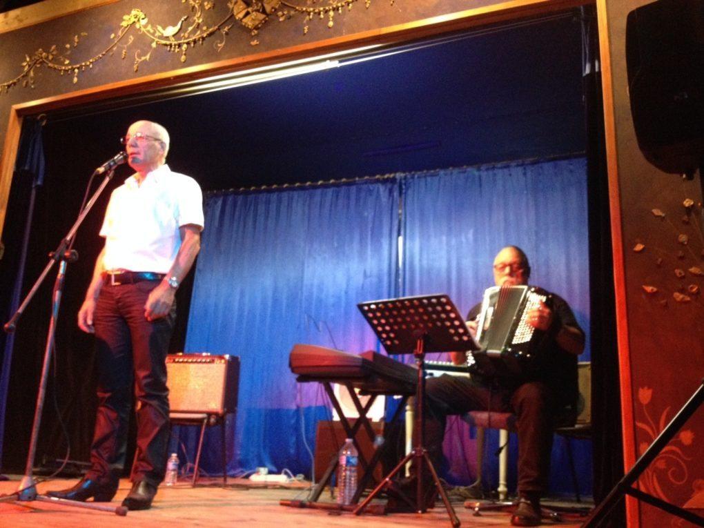 2e représentation : chansons de Serge Reggiani et Jean Ferrat Saint-Loup-du-Gast