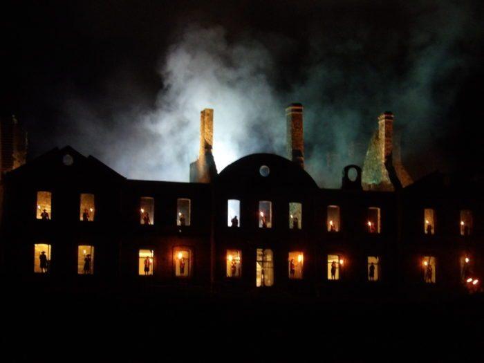 Les nuits magiques de bon repos subliment l abbaye for Tout prend son sens dans le miroir