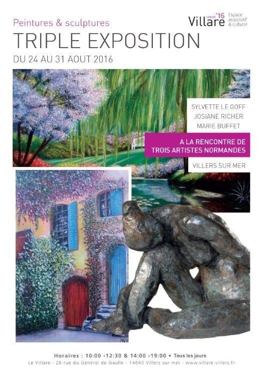 À la rencontre de trois artistes Normandes Villers-sur-Mer