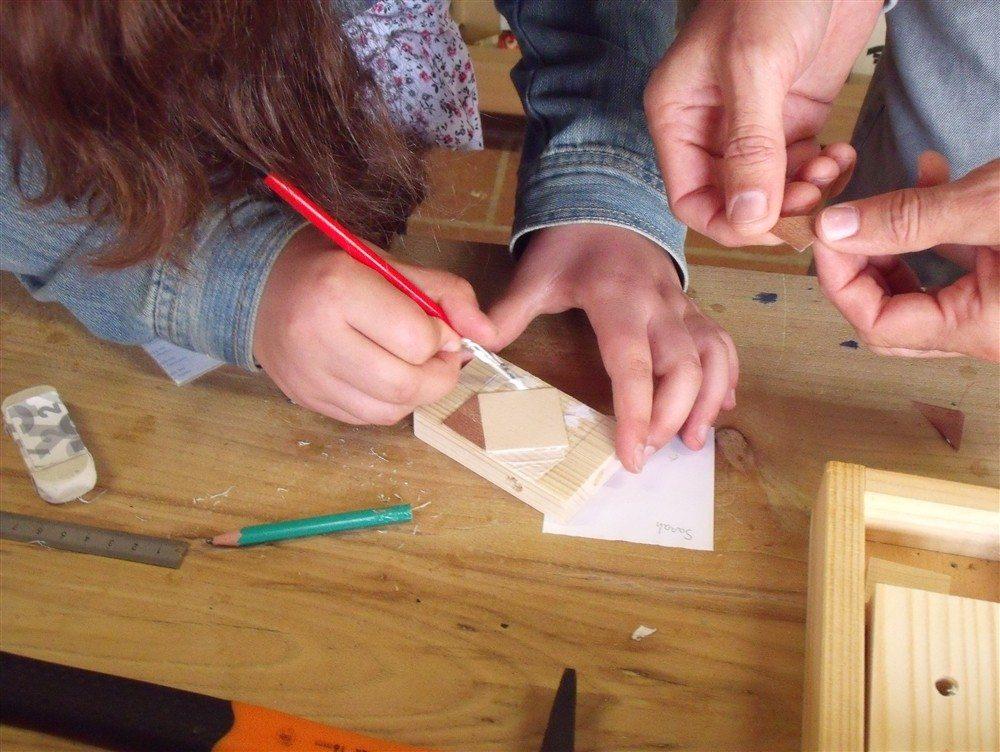 Atelier bois pour les enfants Mauges-sur-Loire