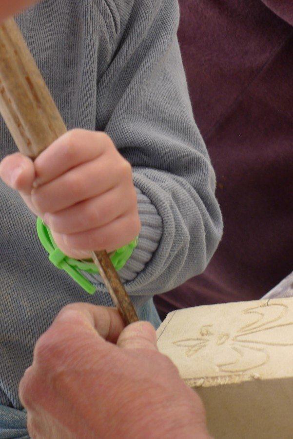 Atelier patrimoine Tailleurs de Pierre au château de Goulaine Haute-Goulaine