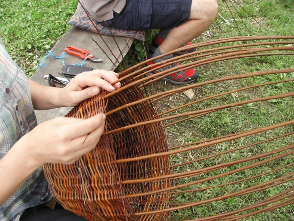 Atelier savoir-faire : vannerie d'osier Vouvant