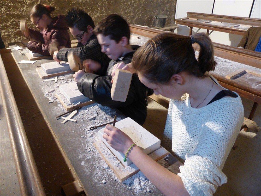 Atelier taille de pierre La Lucerne-d'Outremer