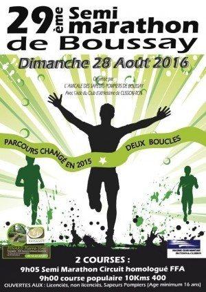 Athlétisme : course à pied, semi-marathon Boussay