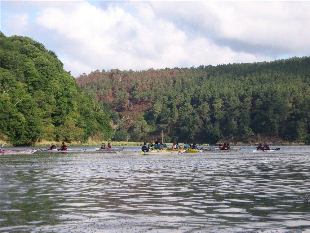 Balade en kayak de mer sur l'estuaire du Trieux Pontrieux