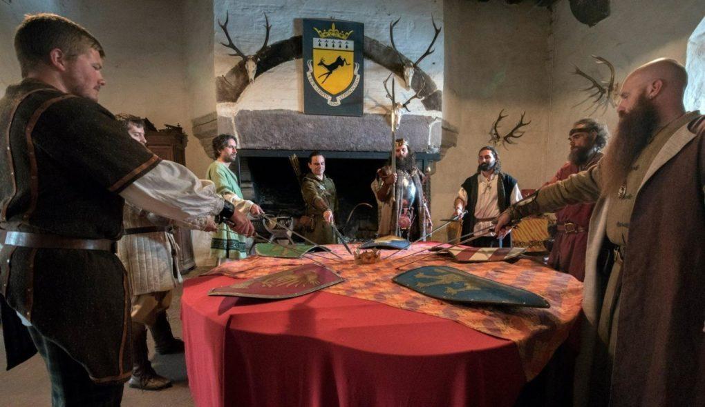 Chevaliers d'Arthur, grand jeu familial Concoret
