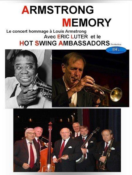 Concert Armstrong memory Bagnoles-de-l'Orne-Normandie