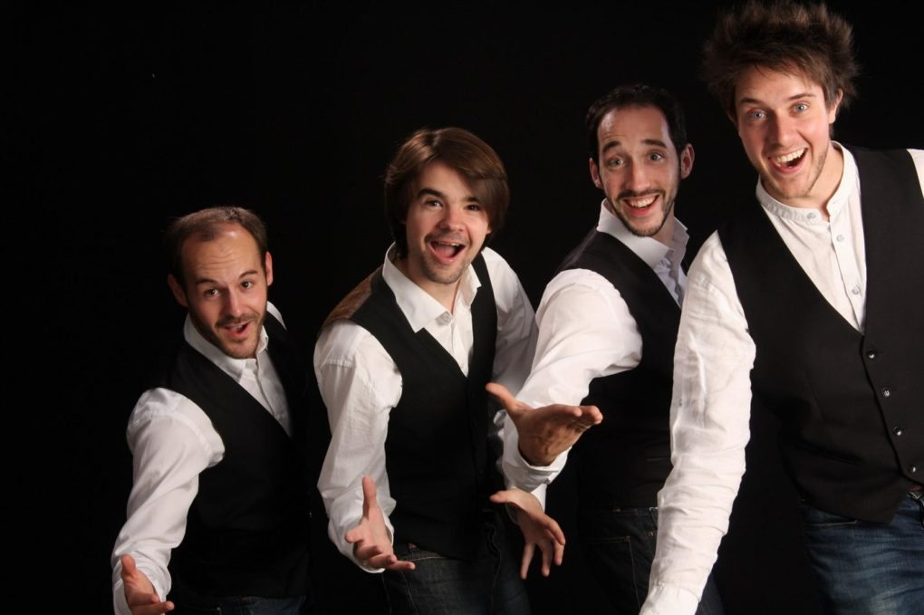 Concert Barbiturik Singers : quatre voix d'hommes a capella Flée