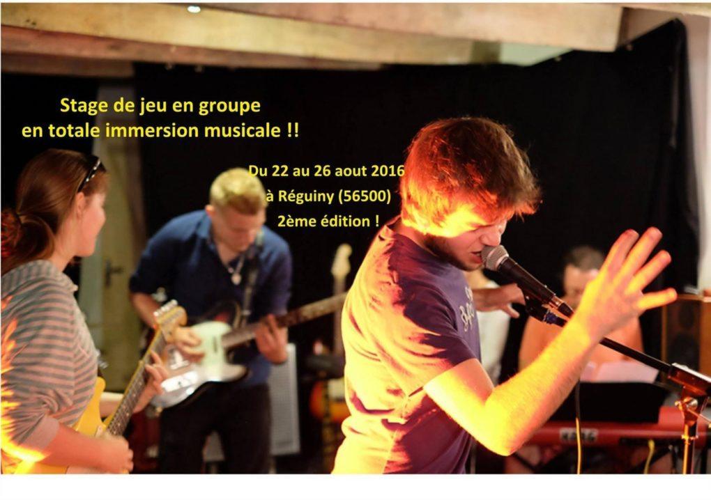 Concert du stage de musique de Réguiny et concert Pontivy