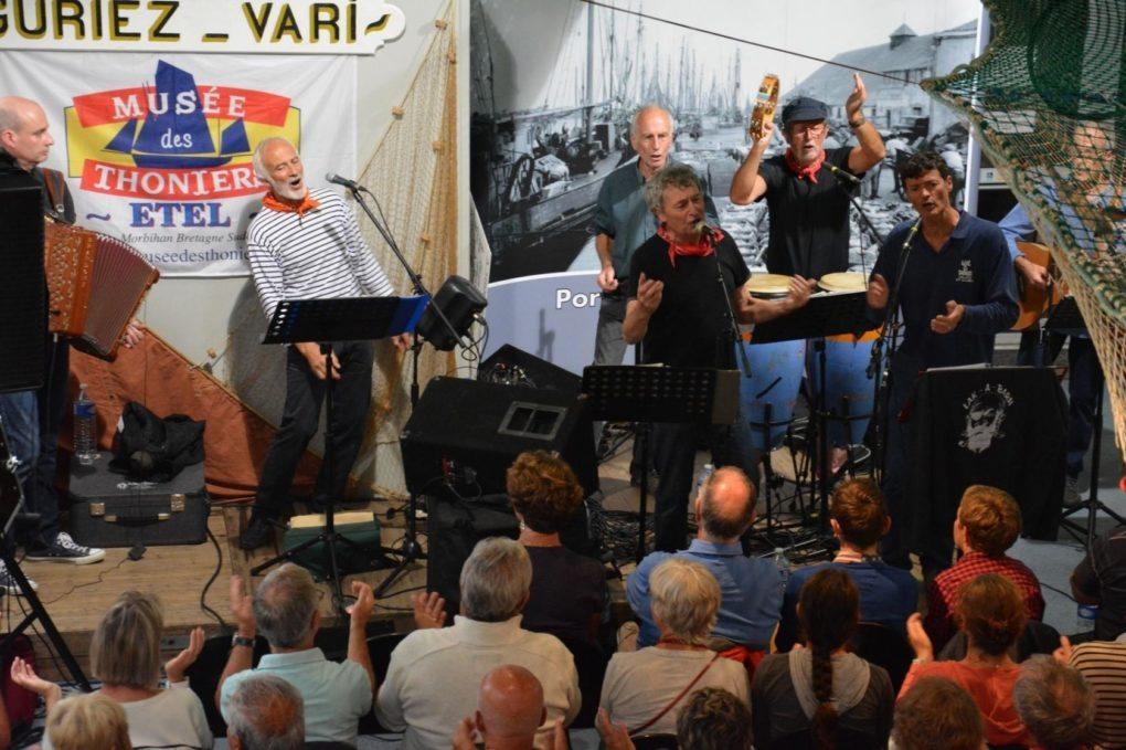 Concert Lak a Barh, chants de la mer et des marins Étel