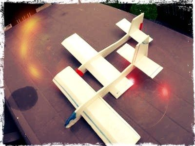 Construction de maquette d'avions à lancer Vitré