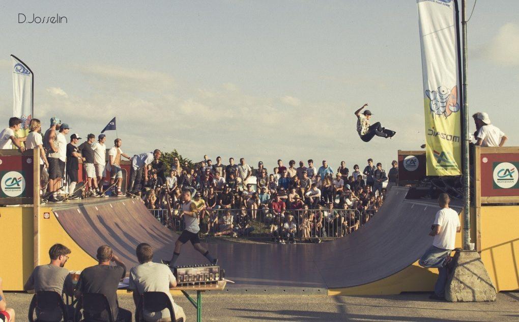 Contest de Skateboard Guidel