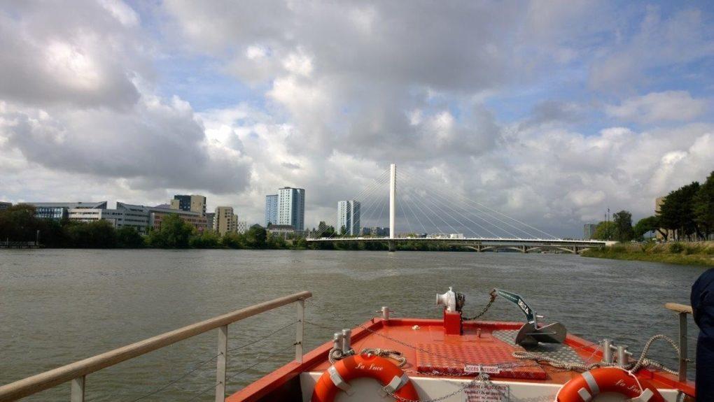 Croisière descente de la Loire de Champtoceaux à Nantes Orée-d'Anjou