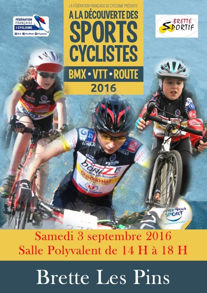 Découverte des sports cyclistes Brette-les-Pins