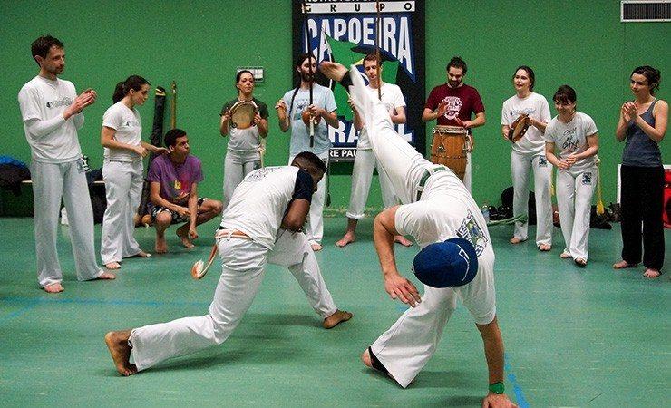 Démonstration de capoeira Rennes