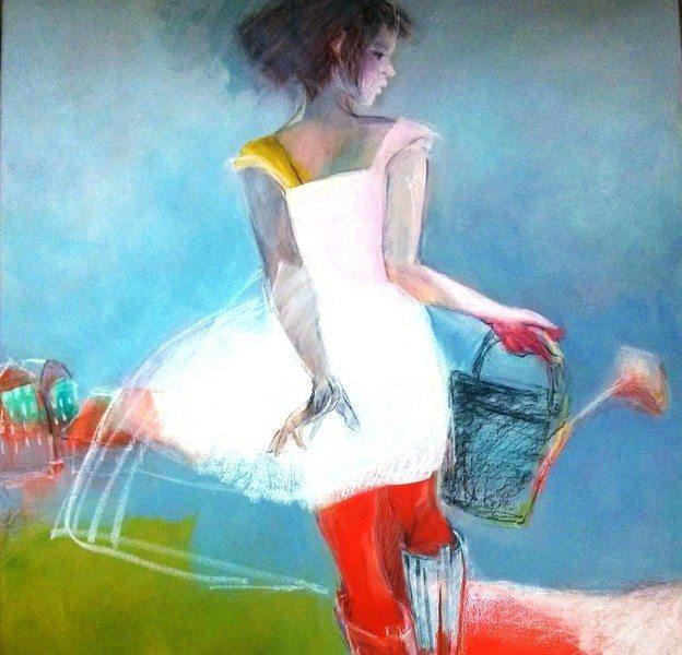 Éclats de vie peintures de Michèle Baron Saint-Hilaire-de-Riez