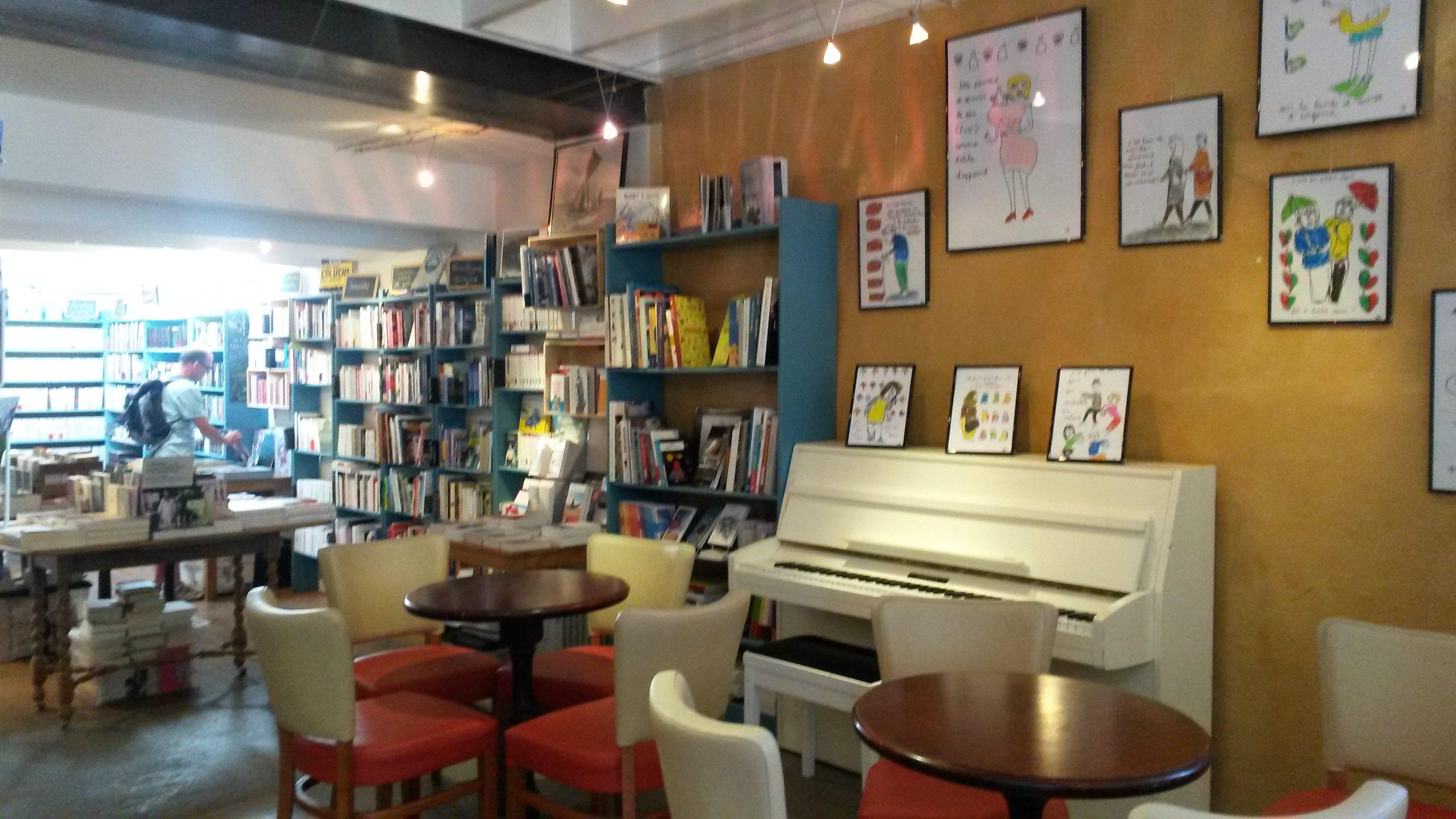 l'écume café-librairie