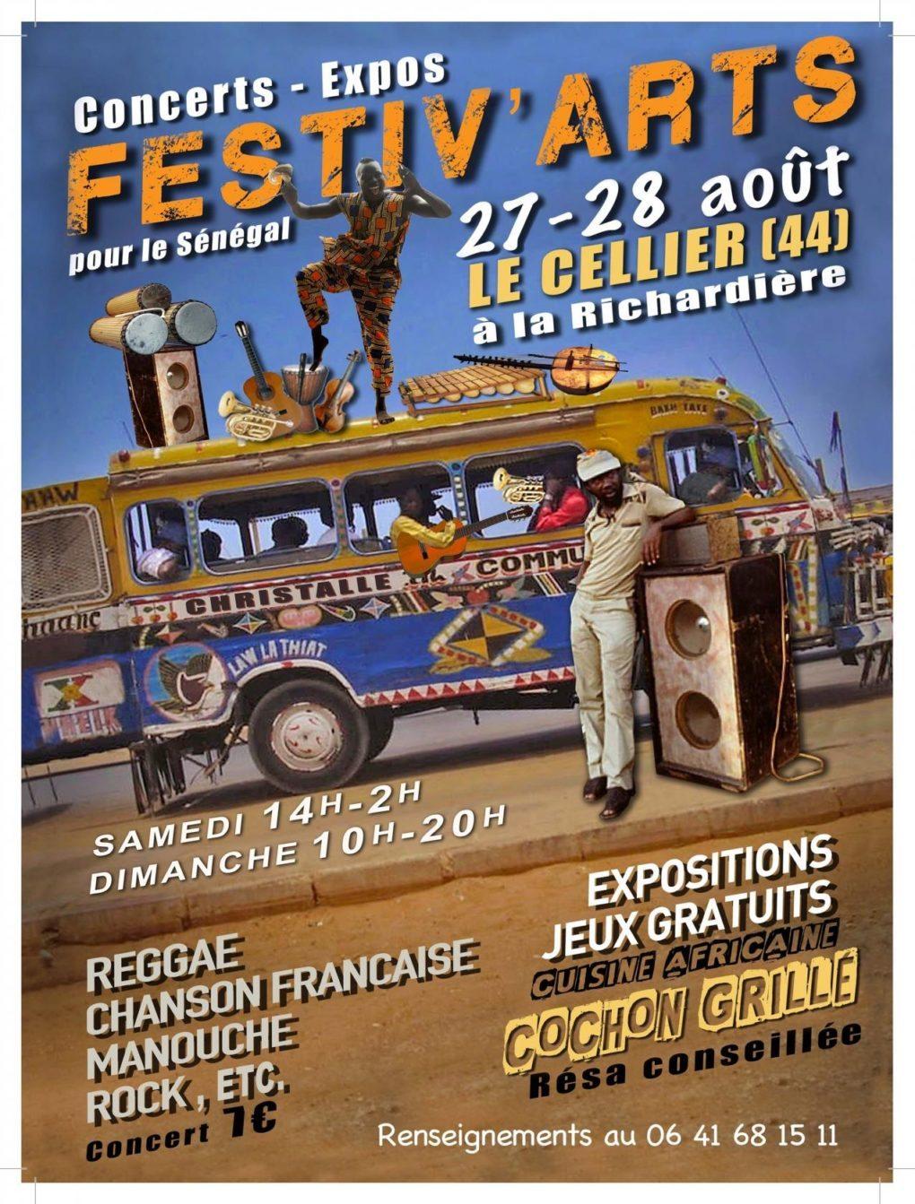 Festiv'arts Le Cellier