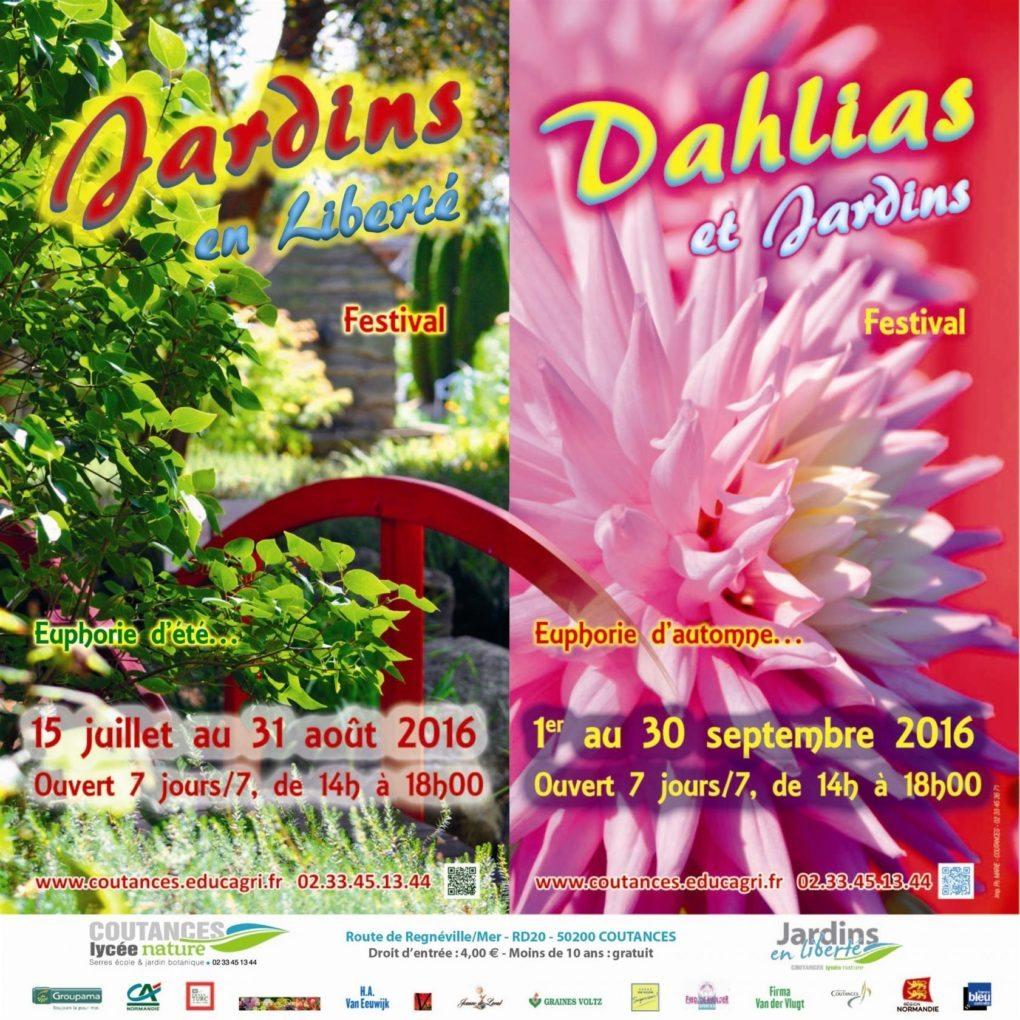 Festival Dahlias et jardins Coutances
