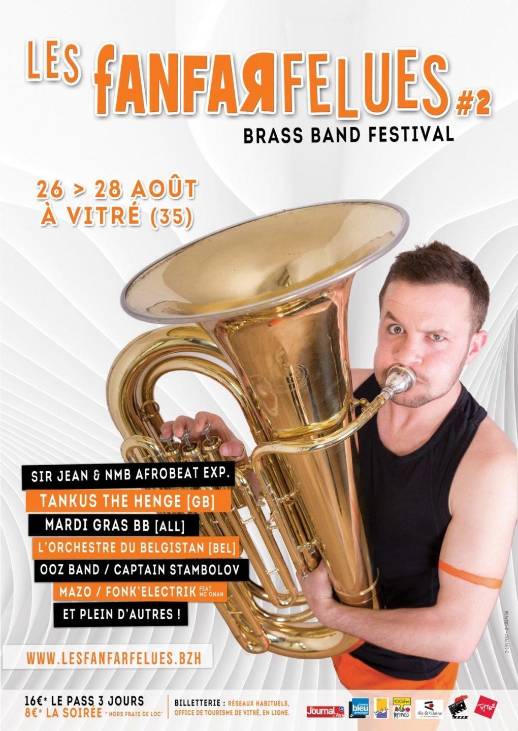 Festival Les Fanfarfelues Vitré