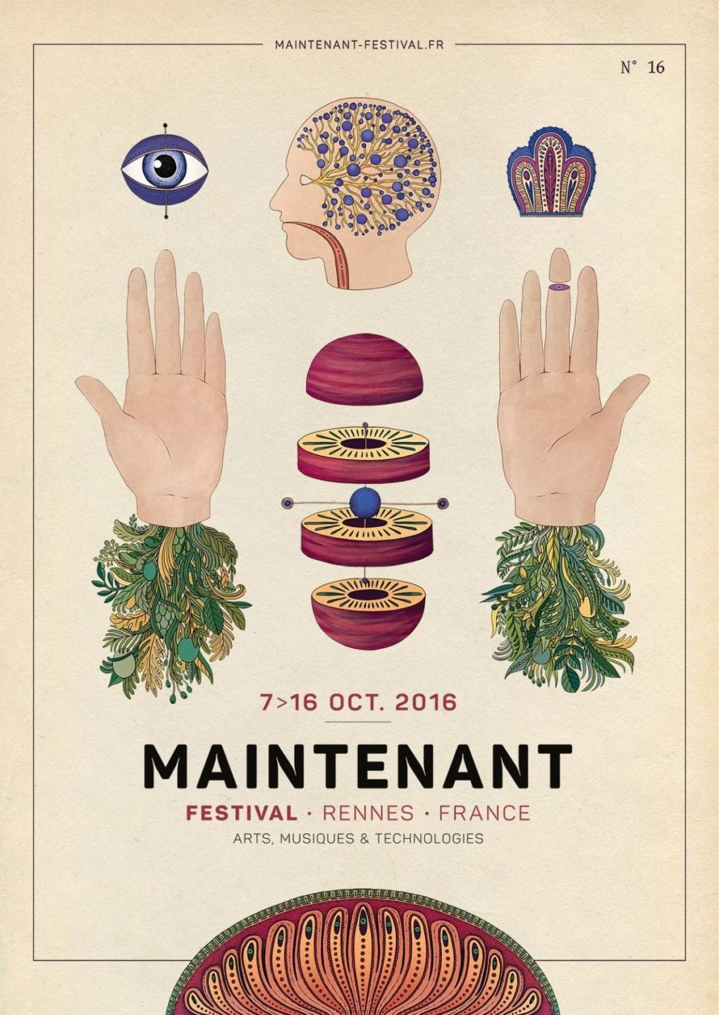 Festival Maintenant arts musiques et technologies Rennes