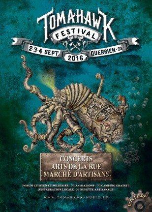 Festival Tomahawk 2016 Querrien