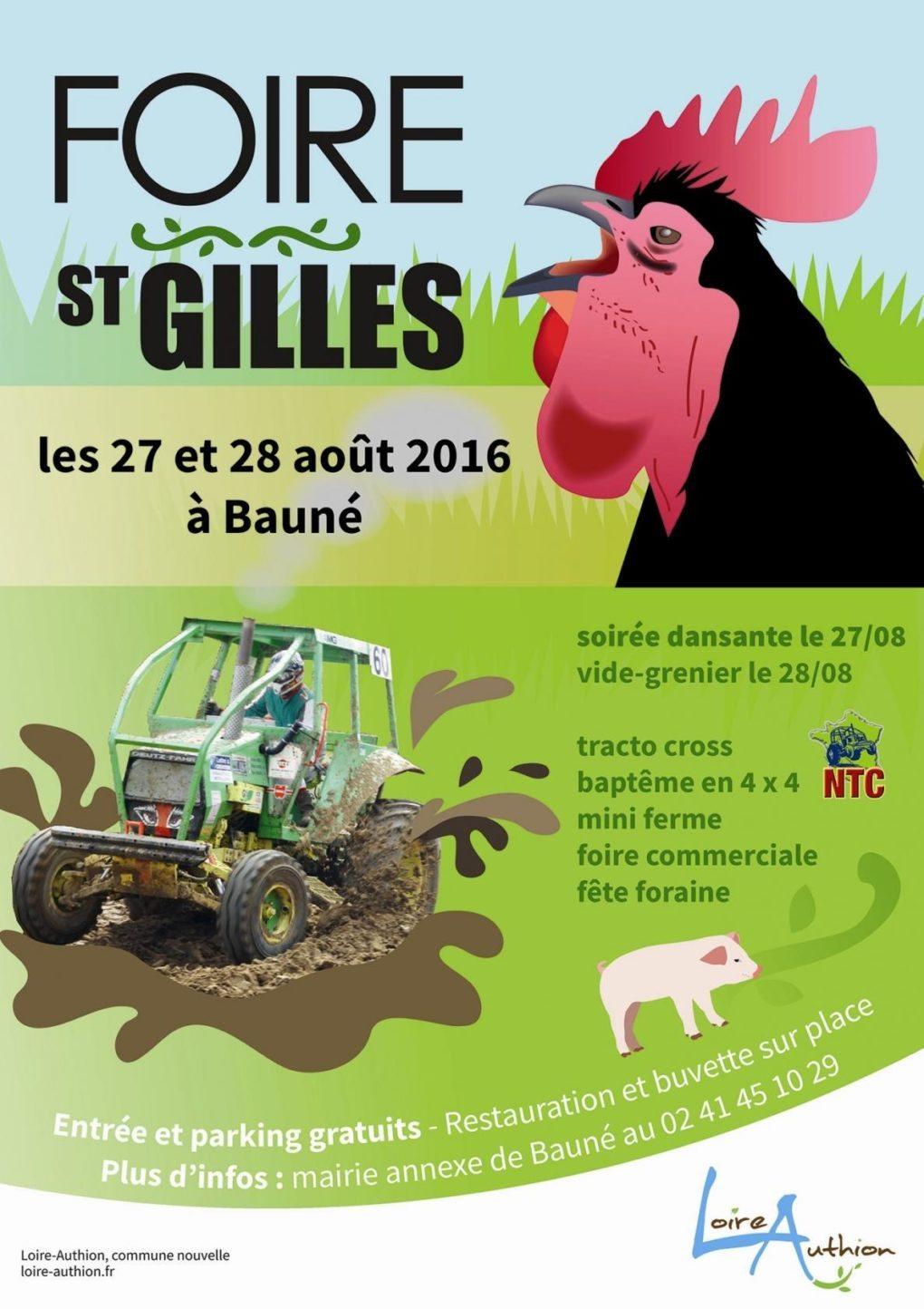 Foire Saint-Gilles Loire-Authion