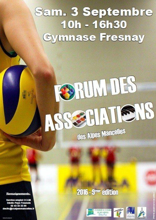 Forum des associations des Alpes mancelles Fresnay-sur-Sarthe