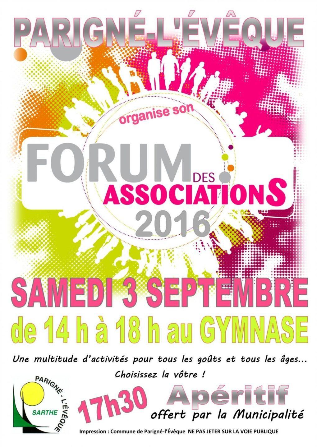 Forum des associations Parigné-l'Évêque