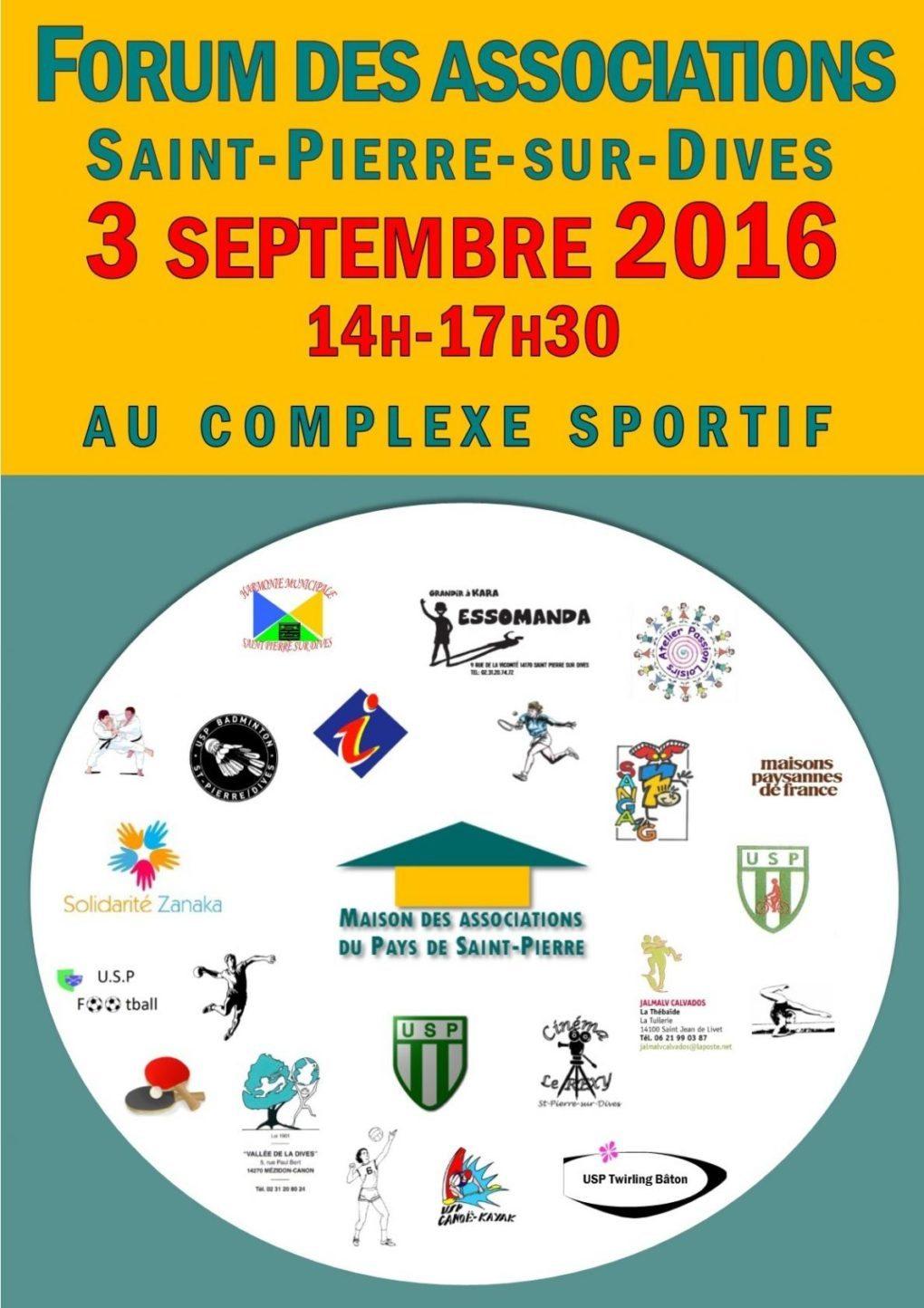 Forum des associations Saint-Pierre-sur-Dives