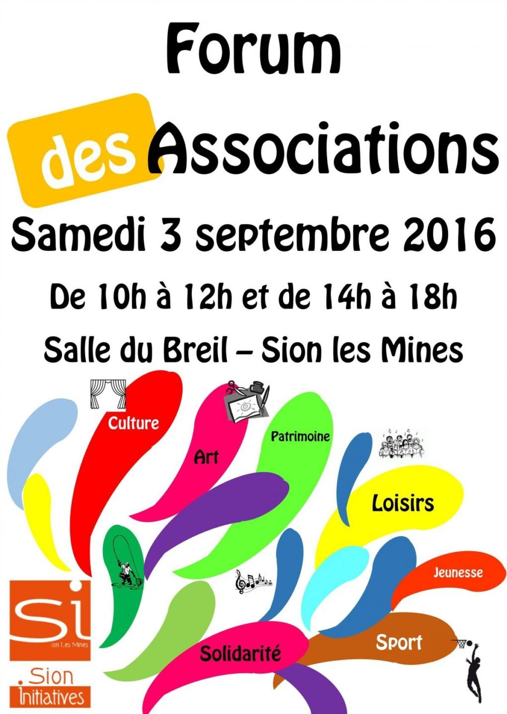 Forum des associations Sion-les-Mines