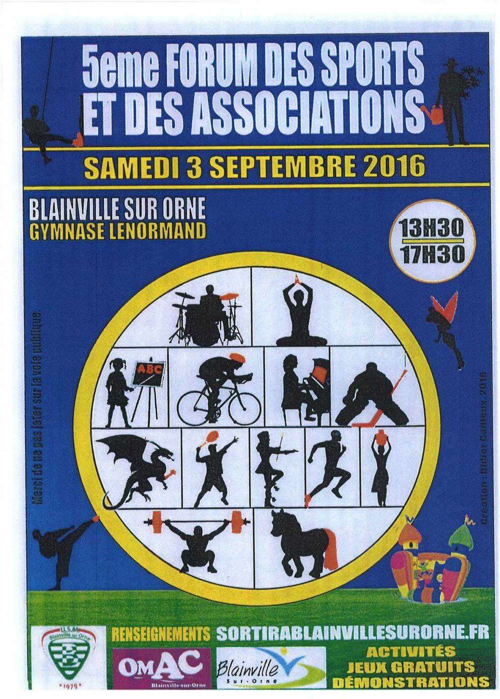 Forum des sports et des associations Blainville-sur-Orne