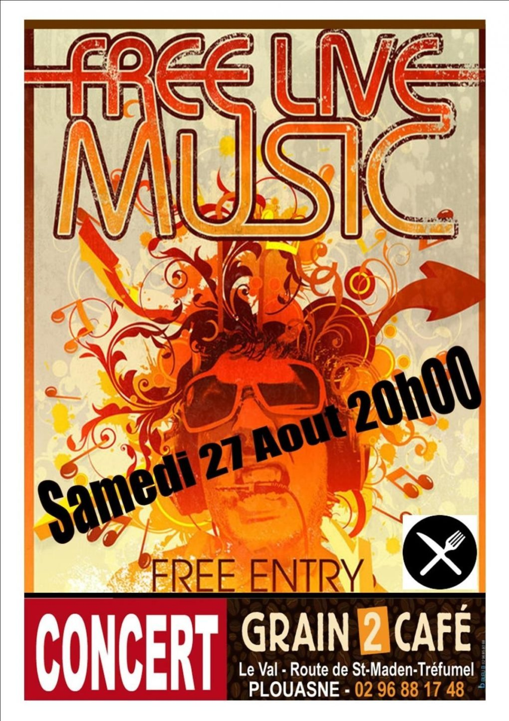 Free Live Music Plouasne