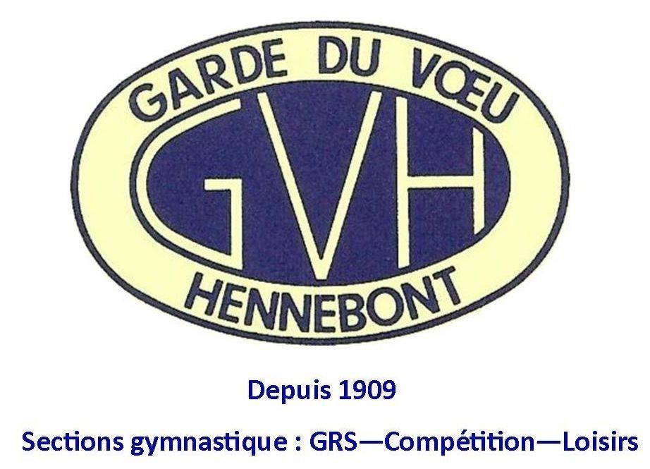 Garde du voeu Hennebont gymnastique : inscriptions Hennebont