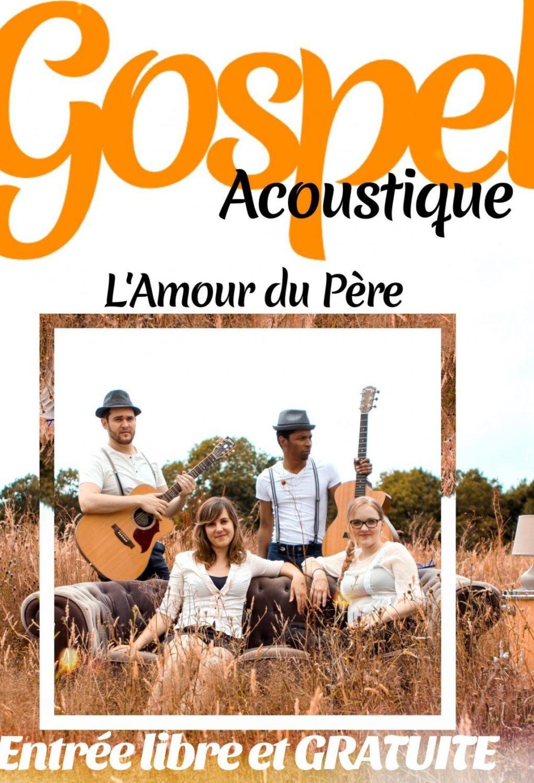 Gospel avec le groupe de Rebecca Poussy-la-Campagne