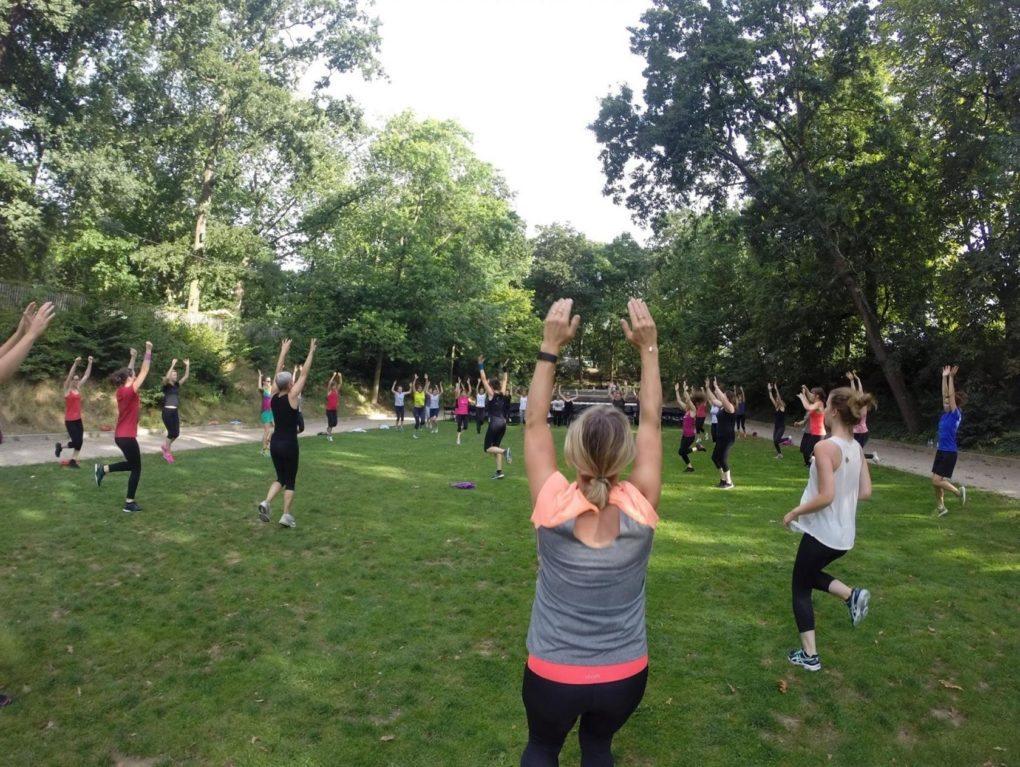 Gym suédoise en plein-air au Thabor Rennes