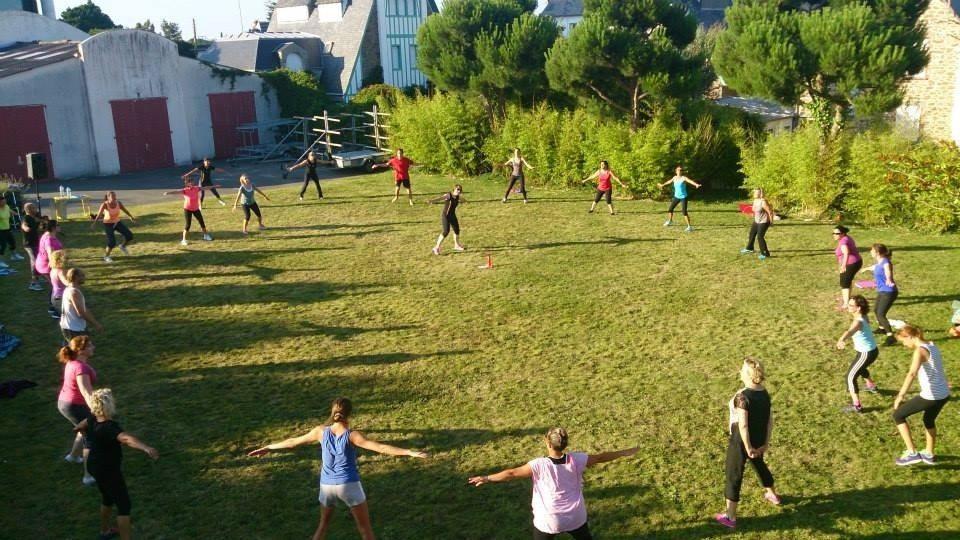 Gym suédoise en plein air Dinard