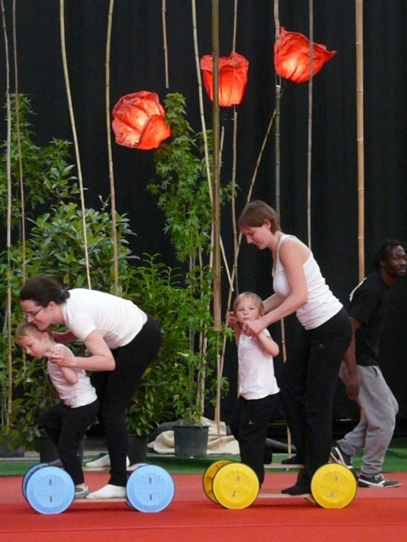 Initiation aux arts du cirque parent-enfant (3 à 5 ans) Saint-Barthélemy-d'Anjou