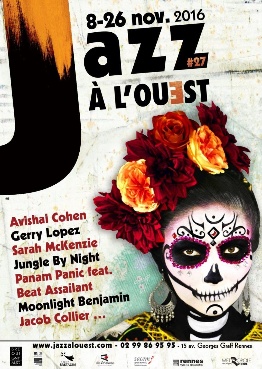 Jazz à l'Ouest 27e édition Rennes