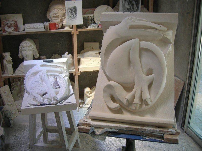 Jeudi des arts : la taille de pierre Fontaine-Henry