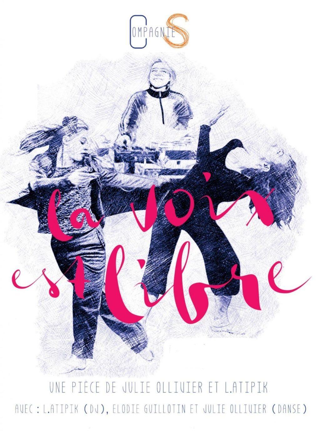 La voix est libre (pièce pour deux danseuses et une DJ) Nantes
