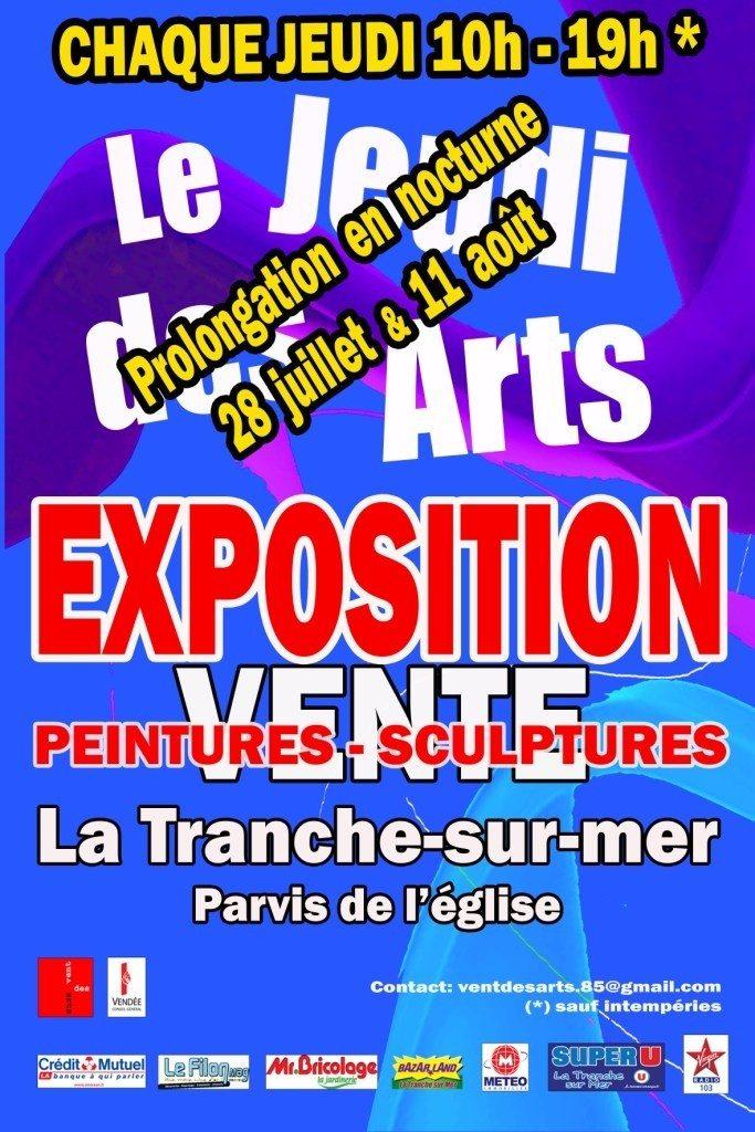 Le jeudi des arts La Tranche-sur-Mer